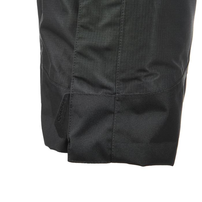 Sur-pantalon pluie randonnée montagne MH500 imperméable homme noir - 3085