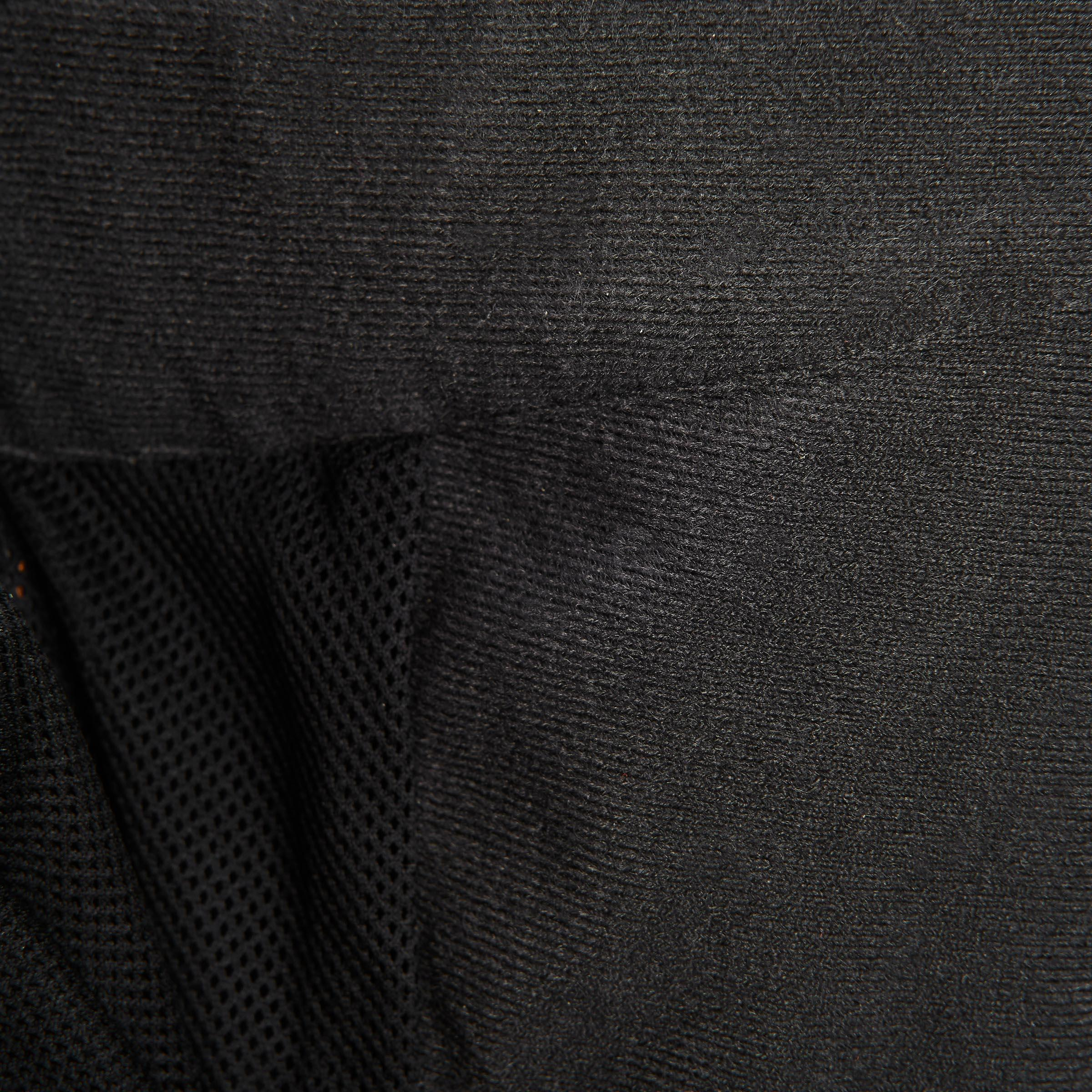 Men's Hiking Rain Pants MH500 (Over-Trousers) - Black