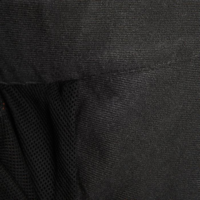 MH500 Men's Waterproof Mountain Hiking Rain Over-Trousers - Black - 3086