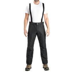 Waterdichte regenbroek voor heren, voor wandelen, Forclaz 100 zwart - 3087