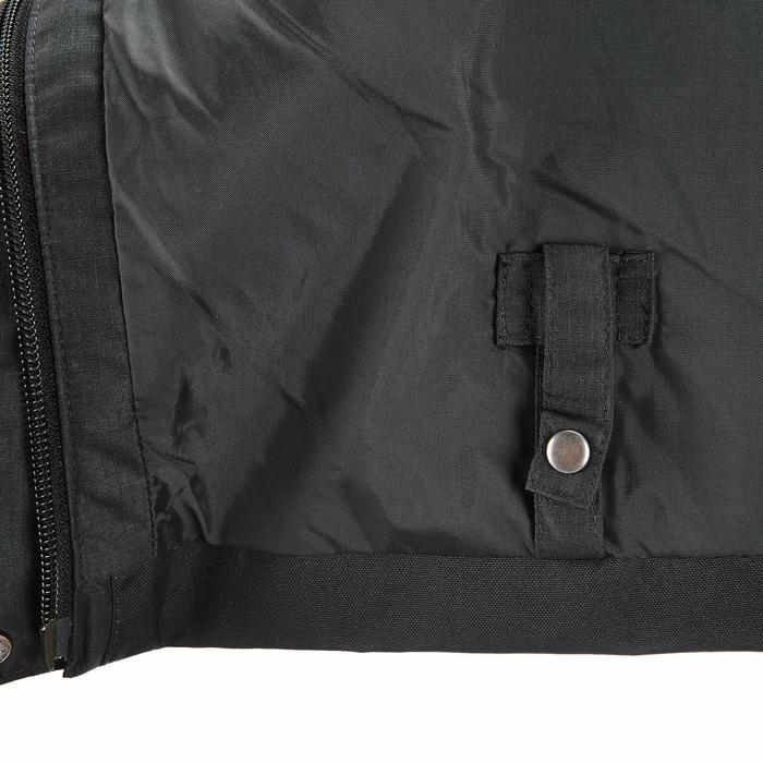 MH500 Men's Waterproof Mountain Hiking Rain Over-Trousers - Black - 3088