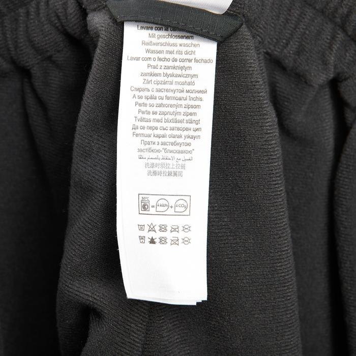 Sur-pantalon pluie randonnée montagne MH500 imperméable homme noir - 3089