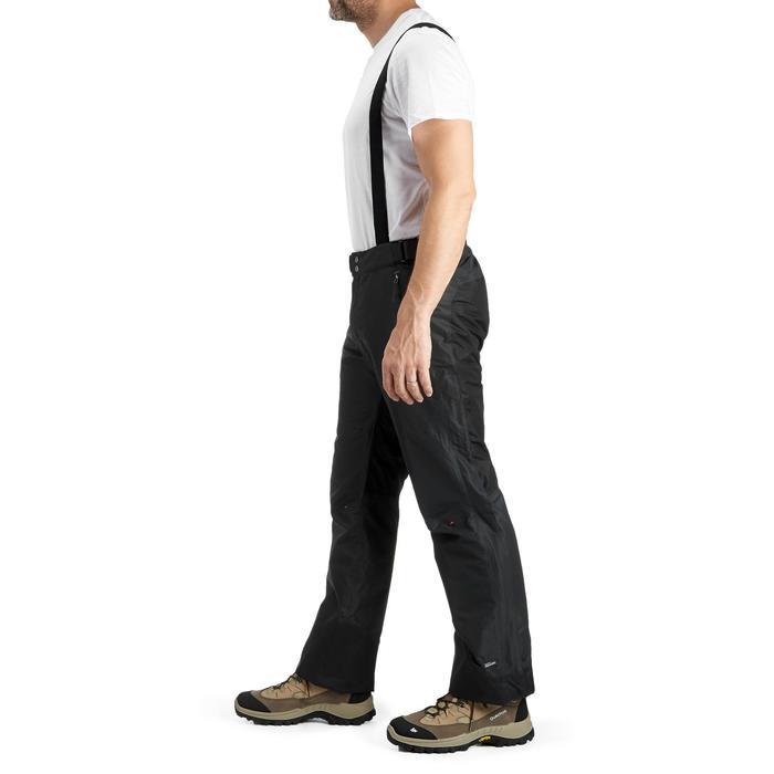 Sur-pantalon pluie randonnée montagne MH500 imperméable homme noir - 3090