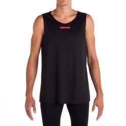 Camiseta de baloncesto adulto Premier negro