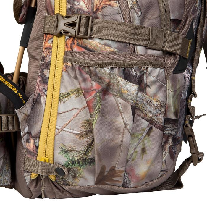SAC A DOS CHASSE DE 45 À 90 LITRES BIG GAME CAMOUFLAGE FORET