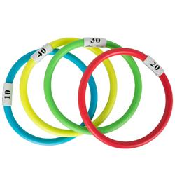 4 anillas acuáticas con lastre