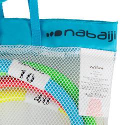 Juego De 4 Anillas Natación Nabaiji Con Lastres Multicolor