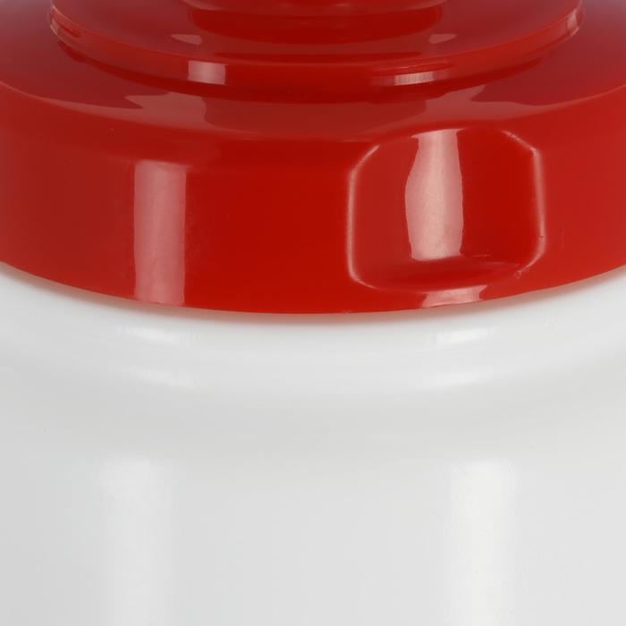 Drinkfles voor hockey 1 liter wit - 310350