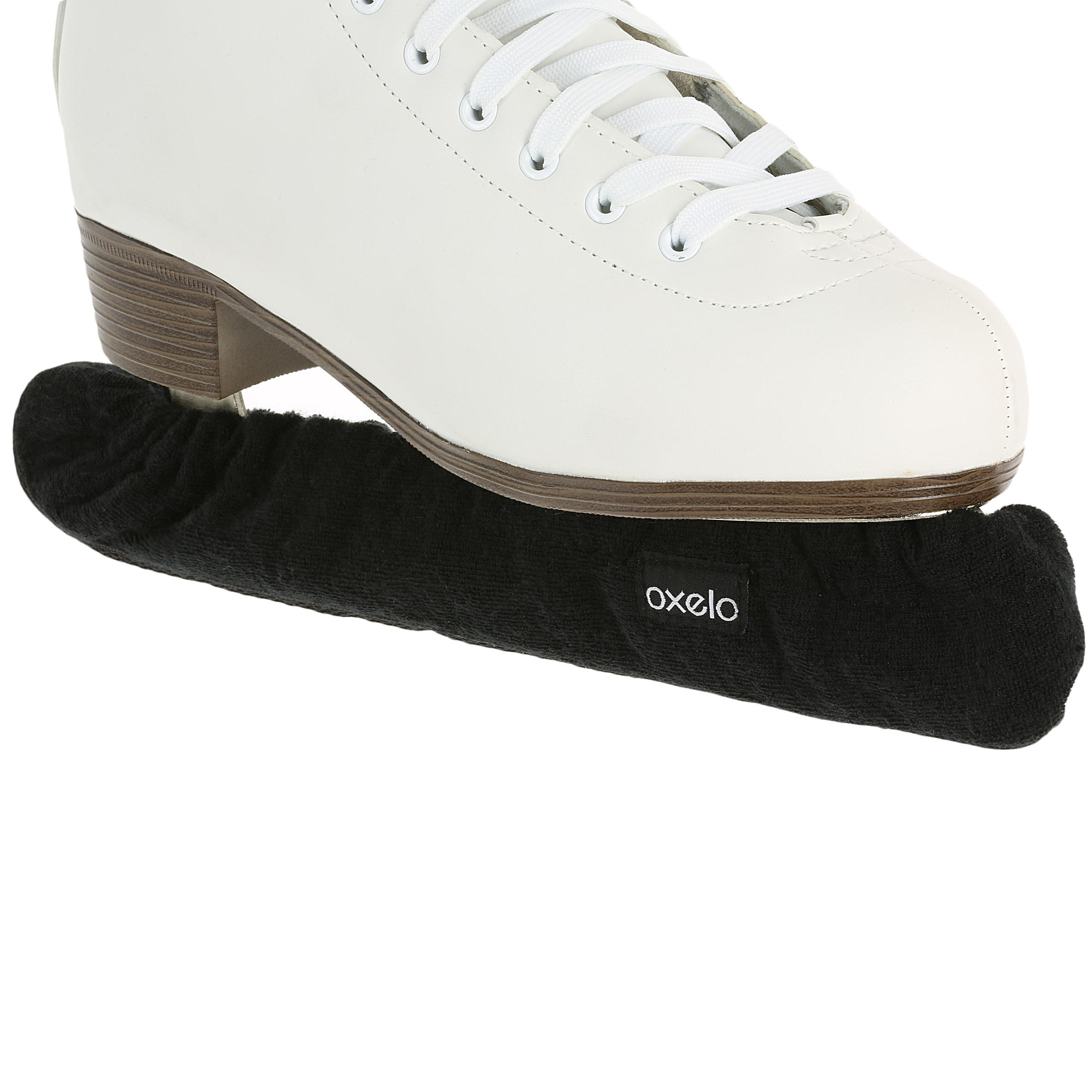 Protège-lames patins à glace noir