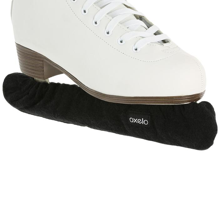 Couvre lame patins à glace noir - 310353
