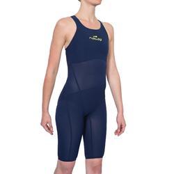 Traje de natación mujer O JET azul