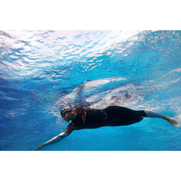 Combinaison de natation néoprène nage en eau libre OWS550 4/3mm femme - 310730