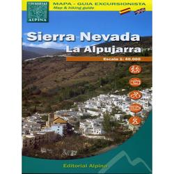 Mapa Alpina. Sierra Nevada.