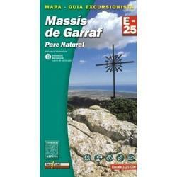 Mapa y guía excursionista Massis del Garraf.