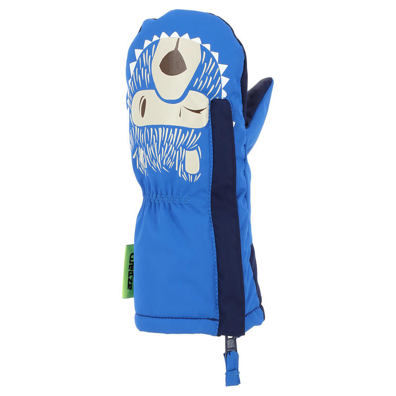 BABY 100 BLUE SLEDGE/SKI MITT