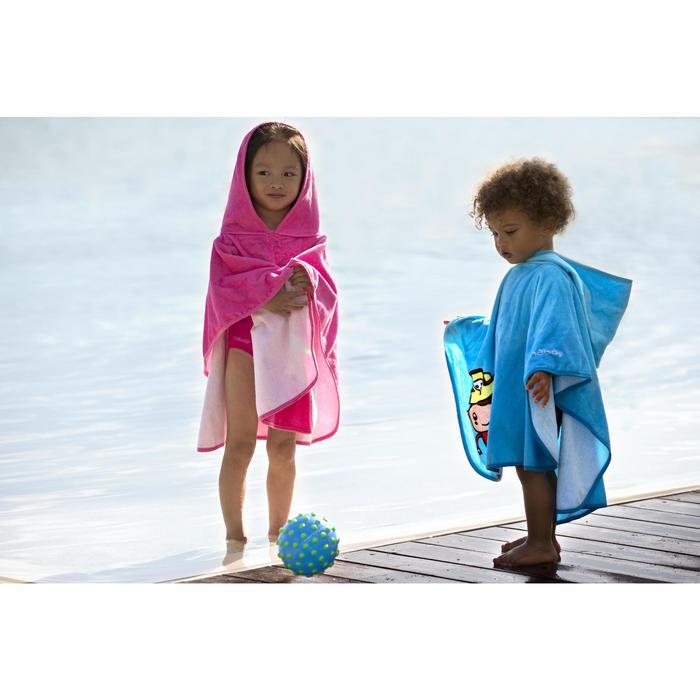 Petit ballon d'éveil aquatique FUNNY BALL rose avec picots violets - 311499