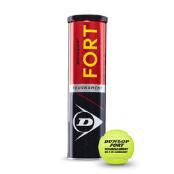 Tennisball Fort Tournament 4er Dose