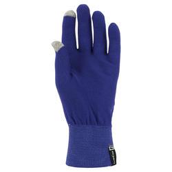 Onderhandschoenen voor trekking Forclaz Touch volwassenen - 312623
