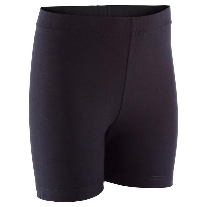 Short 100 fille GYM ENFANT noir