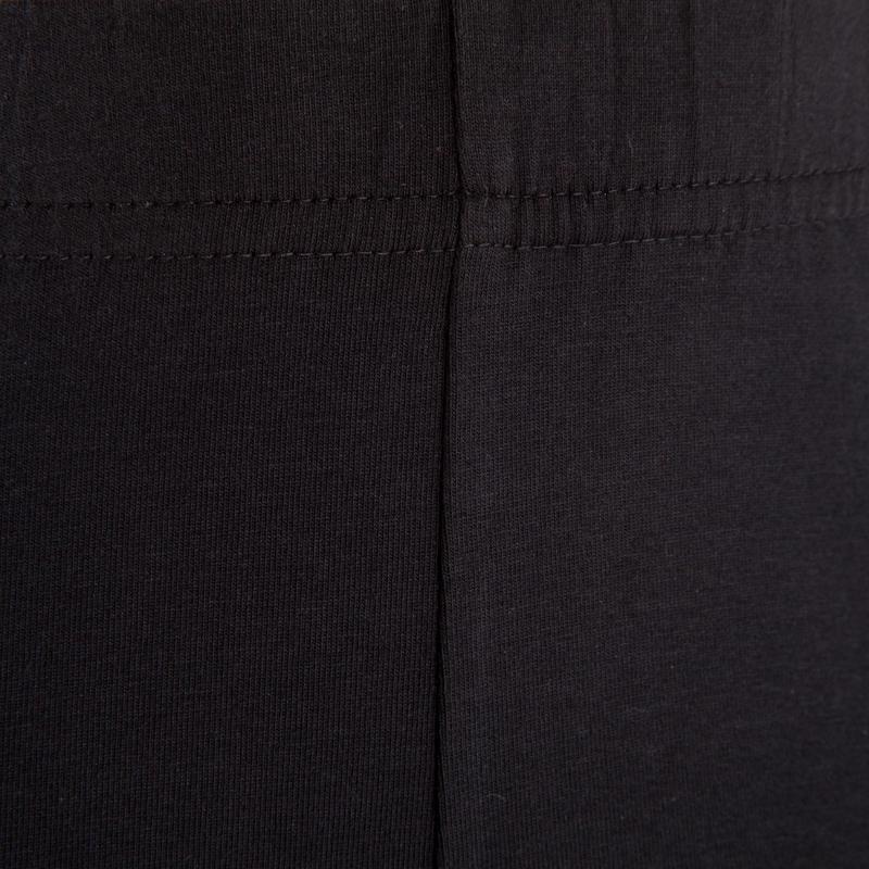 Girls' Gym Shorts 100 - Black