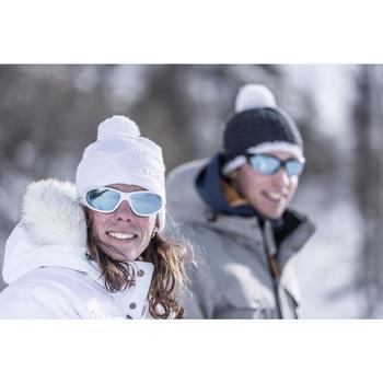 Lunettes de ski adulte SKIING 500 blanches & dorées polarisantes catégorie 3 - 31285