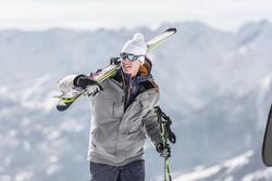 Skibrillen volwassenen Skiing 700 zwart & blauw categorie 4 - 31307