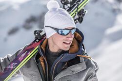 Skibrillen volwassenen Skiing 700 zwart & blauw categorie 4 - 31308