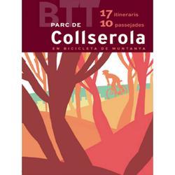 Mapa y guía BTT del Parc de Collserola.