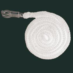 Anbindestrick Soft mit Panikhaken, 2 m, schwarz