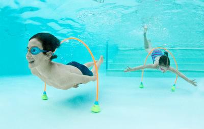 Recorridos acuáticos AQUAWAY venta por pares para progresar en inmersión 150 cm