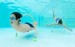 Parcours aquatique AQUAWAY 150 cm vendus par 2