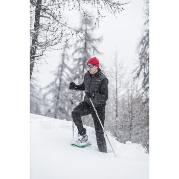 Lunettes de sport ski & montagne adulte TAHOE noires & miroir catégorie 3 - 31467