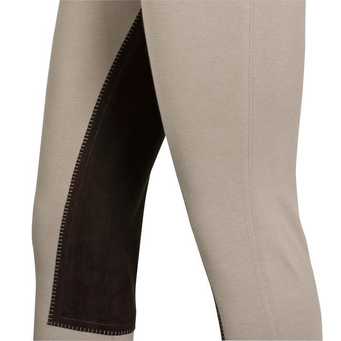 Pantalon équitation enfant FULLSEAT noir et - 314670