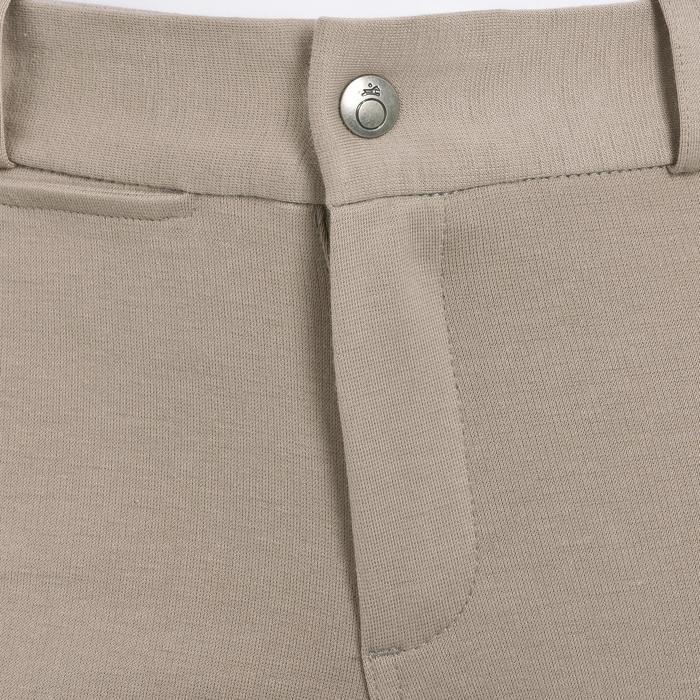 Pantalon équitation enfant FULLSEAT noir et - 314678