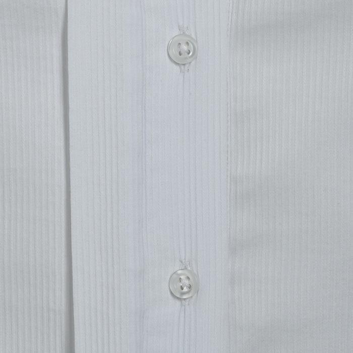 Chemise manches courtes Concours équitation femme blanc broderie argent - 314699