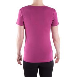 T-shirt gym & pilates Sportee dames - 314866