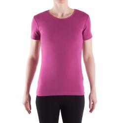 T-shirt gym & pilates Sportee dames - 314867