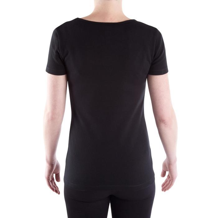 Tee-shirt en coton biologique gym douce, yoga, pilates femme - 314912