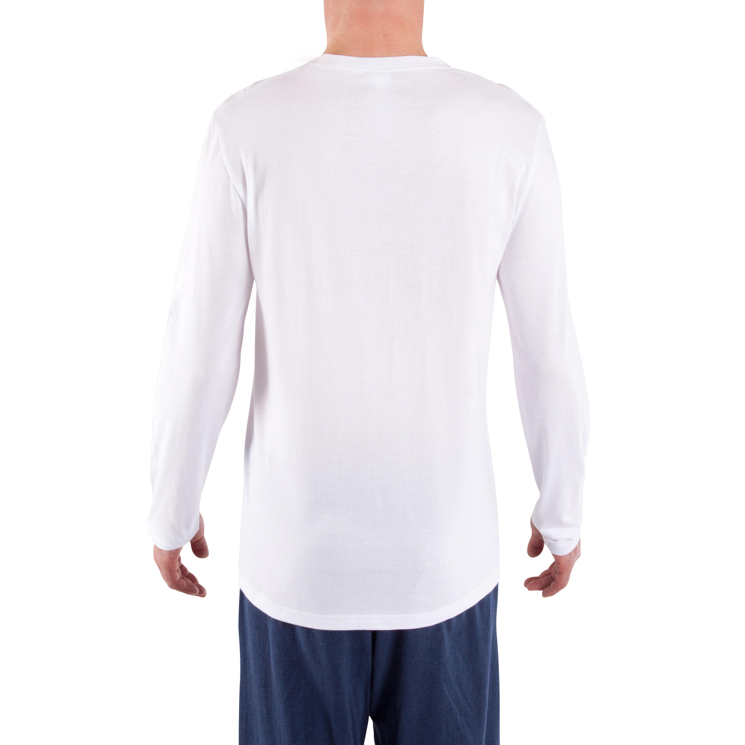 Gentle Gymnastics, Yoga and Pilates Long-sleeved T-shirt - White