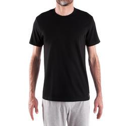 男款純棉T恤Sportee - 黑色
