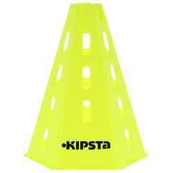 Pionnen set van 6, 30 cm hoog geel