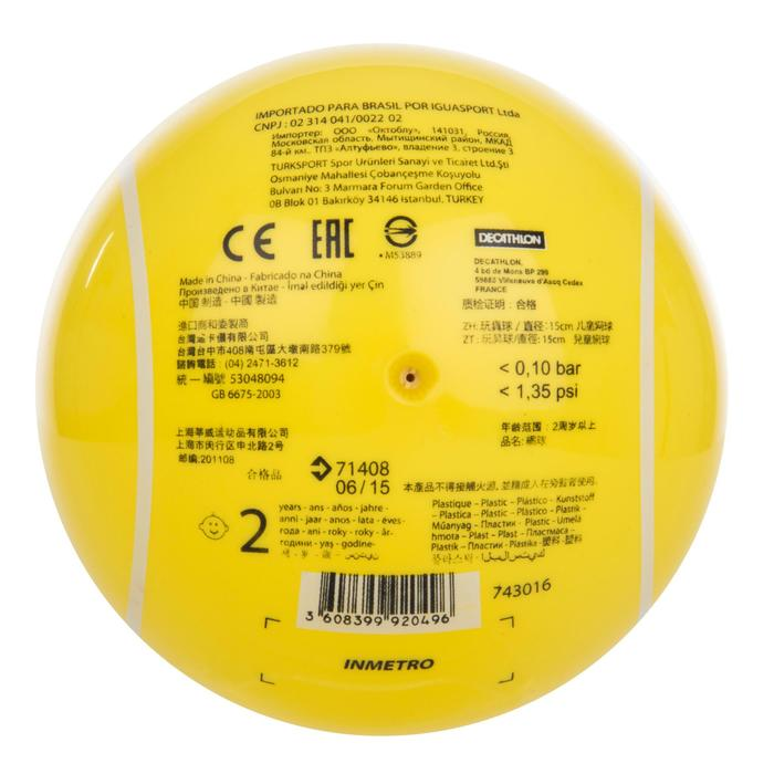 Bal voor peutertennis TB130 geel