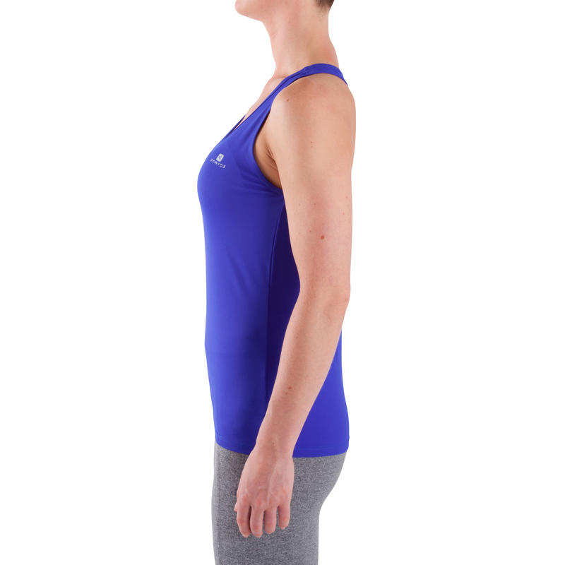 My Top Women's Cardio Fitness Tank Top - Blue