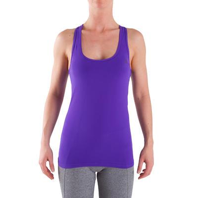 Débardeur Fitness Femme MY top violet