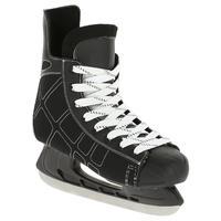 Patin de hockey sur glace adulte ZÉRO noir