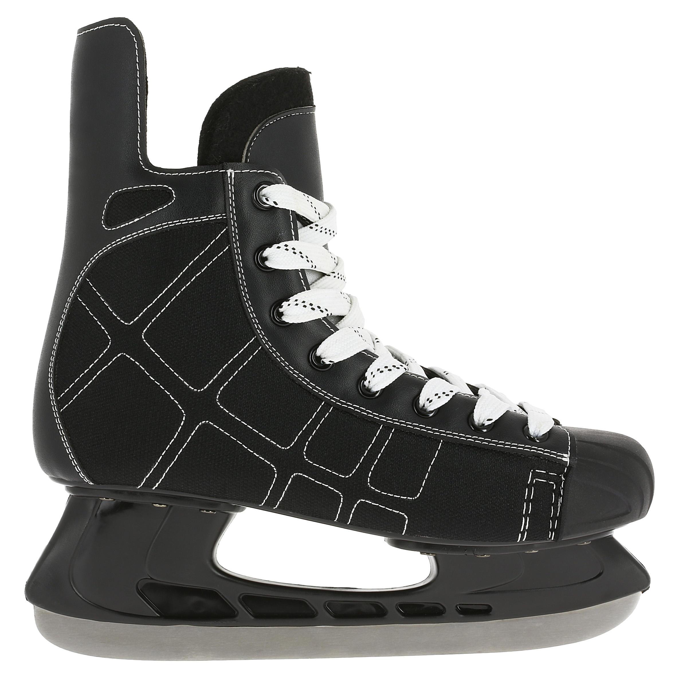 Oxelo IJshockeyschaatsen voor kinderen Zero zwart