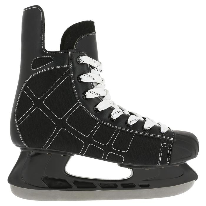 Patin de hockey sur glace junior ZERO noir - 317336