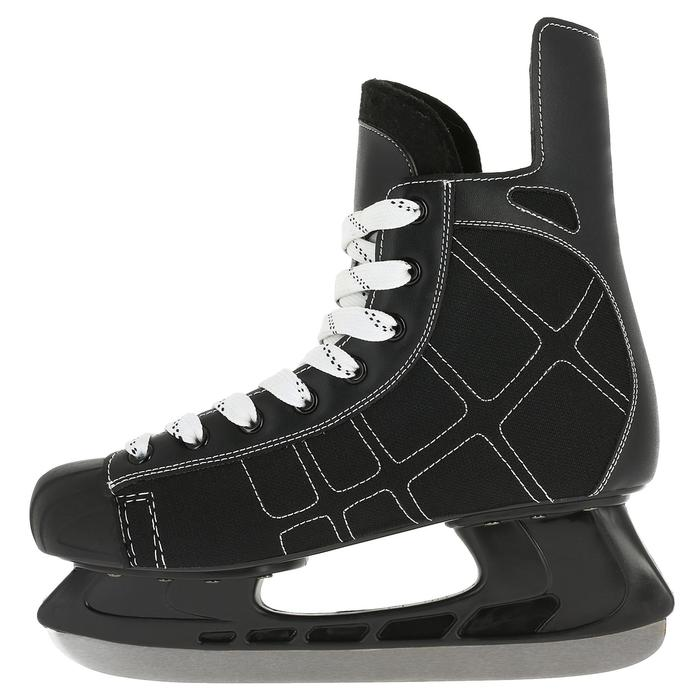 Patin de hockey sur glace junior ZERO noir - 317337