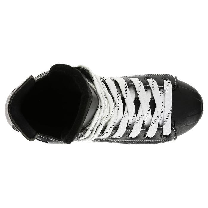 Patin de hockey sur glace junior ZERO noir - 317343