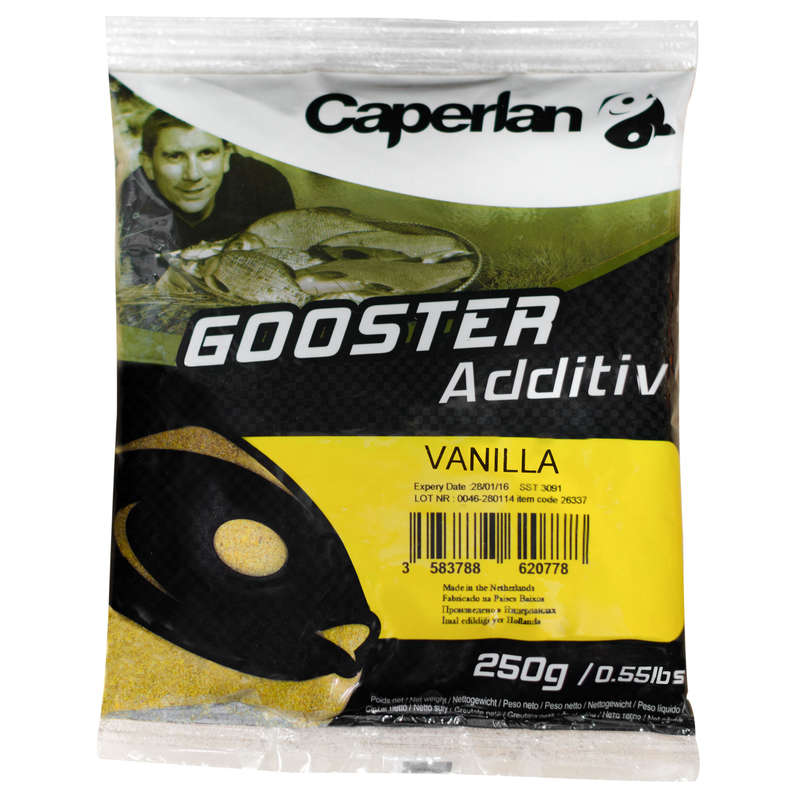 FISHING BAIT, ADDITIVES Fishing - GOOSTER VANILLA ADDITIVE CAPERLAN - Coarse and Match Fishing